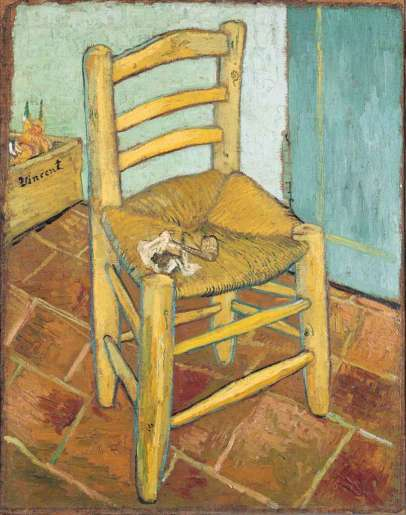 London National Gallery Top 20 20 Vincent Van Gogh - Van Goghs Chair