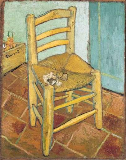 London National Gallery Top 20 20 Vincent Van Gogh - Van Goghs Chair