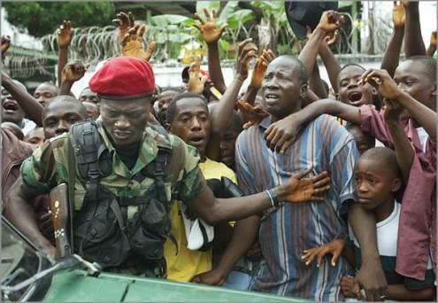 Nigerian Peacekeeping Vanguard Visits Monrovia